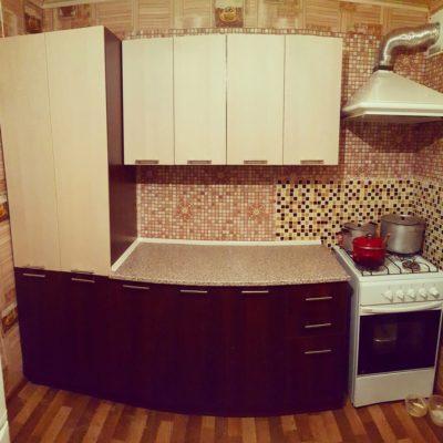 Эконом кухня с фасадами из ЛДСП