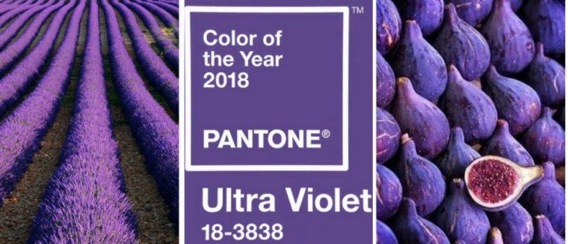 Ультрафиолет — Цвет 2018 года в интерьере