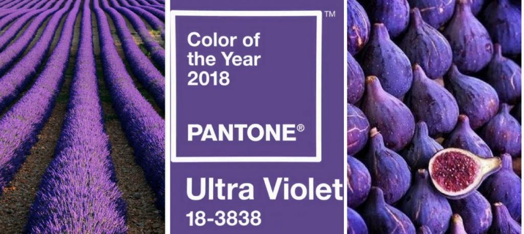 Ультрафиолет - Цвет 2018 года в интерьере | Новинки ЛДСП